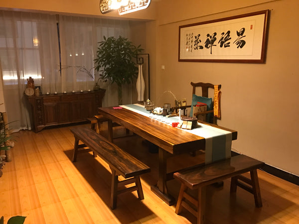 Private tea room in Wuyishan