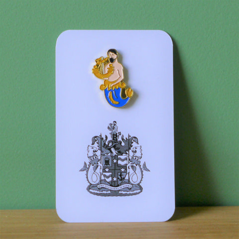 Henry Trading Merman Badge