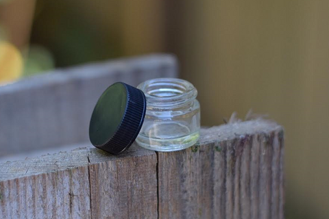 Glass Round Containers - THE TERPENE STORE
