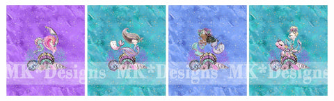 Glam Mermaids CHILD panel set