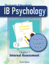 IB Psychology - Teacher Support Pack Complete Bundle