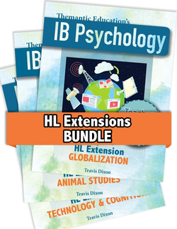 IB Psychology - Teacher Support Pack - Chapter 8: HL Extensions Bundle