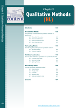 IB Psychology - A Student's Guide - Qualitative Methods - eBook