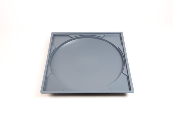 image: dinner plate mold, style 3, 14-inch- Pure & Simple Pottery Products