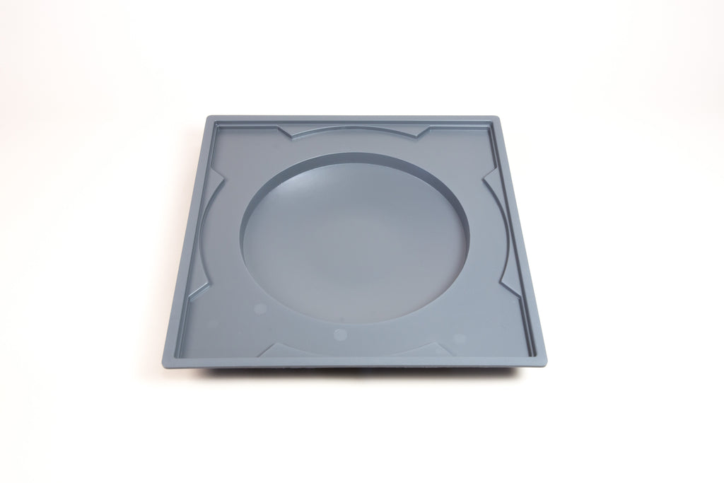 image: 10-inch salad plate bat mold-style 3 - Pure and Simple Pottery Products