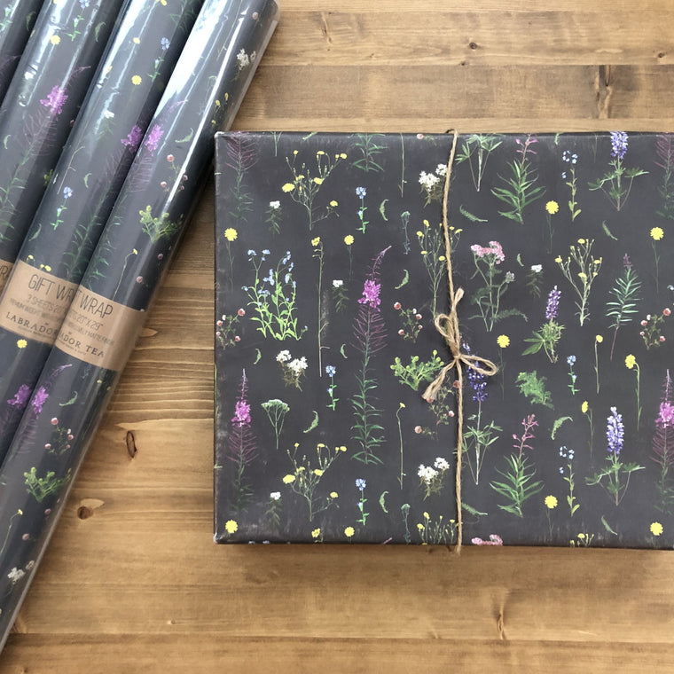 Alaskan Wildflowers Gift Wrap