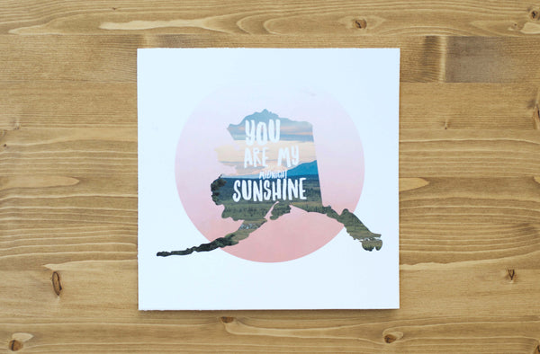 You Are My (midnight) Sunshine Art Print