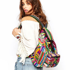 hiptipico backpack, bohemian textile festival backpack, free people asos hiptipico backpack, Hiptipico ethical fashion blog, ethical fashion blogger,  ethical fashion brands, Slow fashion brands, Artisan made accessories, hiptipico ethical shopping guide,   Ethical holiday gift ideas,  Sustainable gift guide,  Ethical Fashion Gift ideas, Gifts that Give Back, Sustainable Gift Ideas, Free Christmas Delivery, Hiptipico ethical fashion gift guide