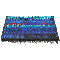 hiptipico handmade table runner, hand woven ethical table runner