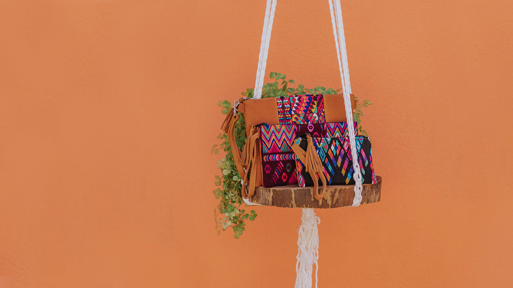 Hiptipico Sustainable Luxury Leather Accessories Handmade in Guatemala