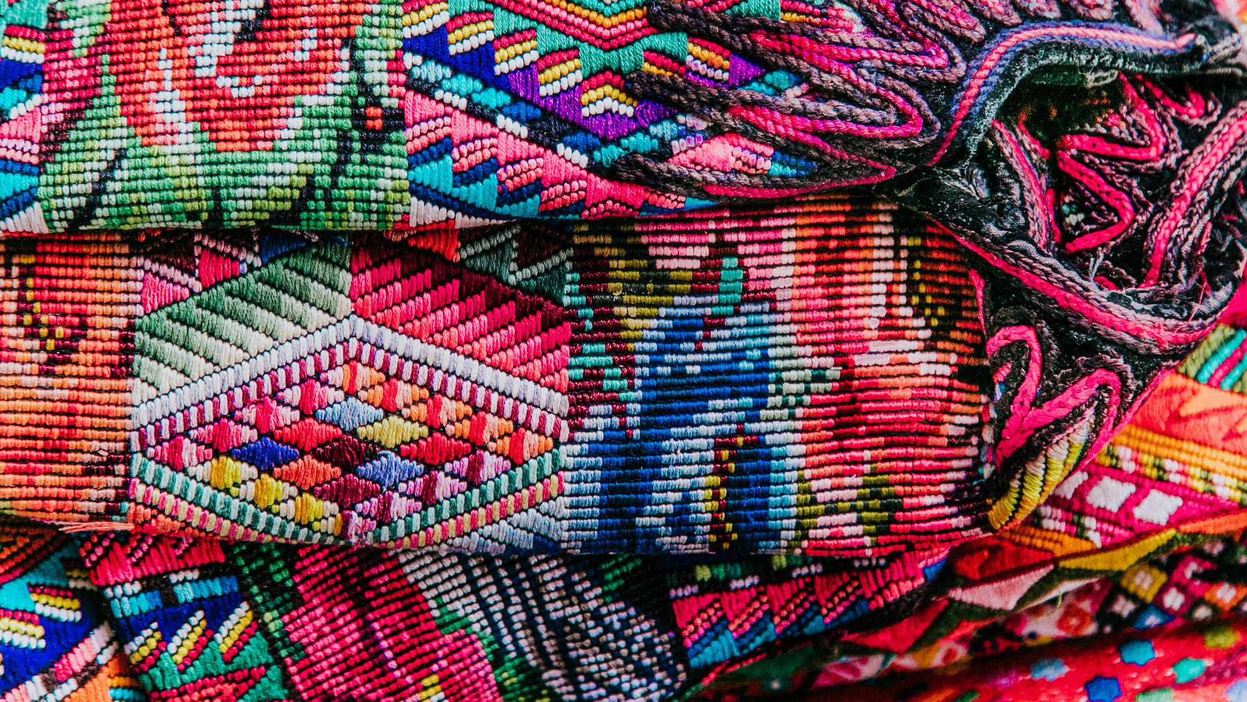 Hiptipico Colorful Textiles made in Guatemala by Artisan Women