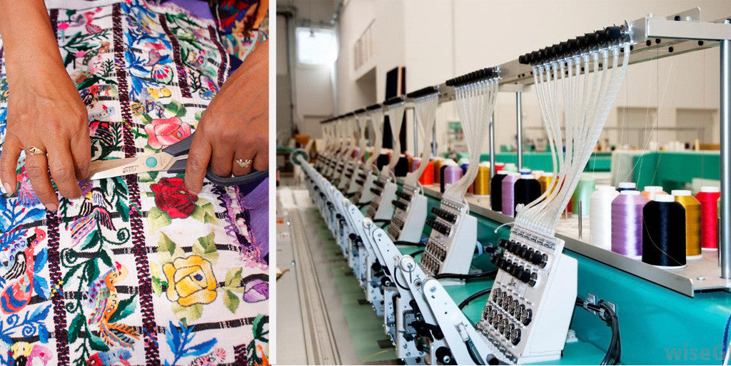 Artisan made embroidery, hand embroidery, machine vs. hand embroidery, difference with embroidery machines, trendy embroidery, embroidery fashion trend, guatemalan embroidery, history of guatemalan textiles, embroidery by hand