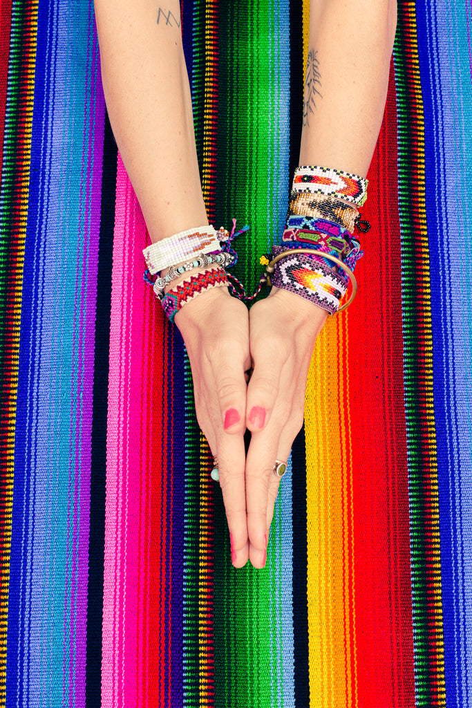 hiptipico ethical fashion blog yoga guatemala blanket bracelets tattoos