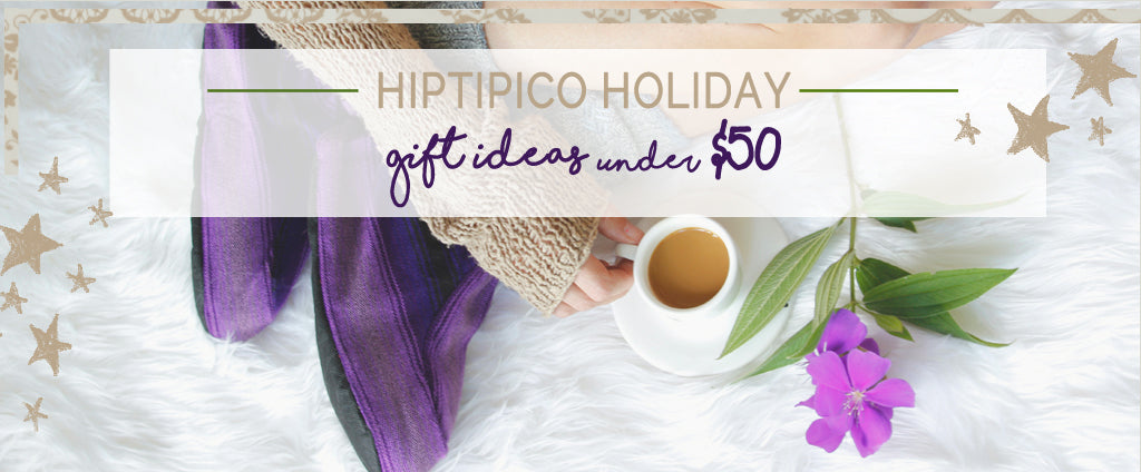 hiptipico holiday sale, unique christmas gift ideas, ethical christmas list, gifts that give back