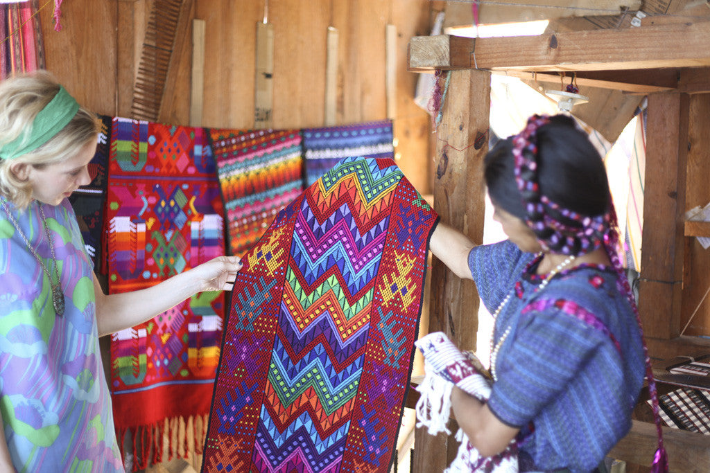 Hiptipico buying trips, guatemala buying trip, guatemala textile sourcing, maya textile sourcing guatemala, guatemala artisan weaving cooperatives, female weaving cooperatives guatemala, lake atitlan weaving lessons, day trips lake atitlan, artisan tour guide lake atitlan, where to buy guatemalan textiles, fair trade textiles guatemala