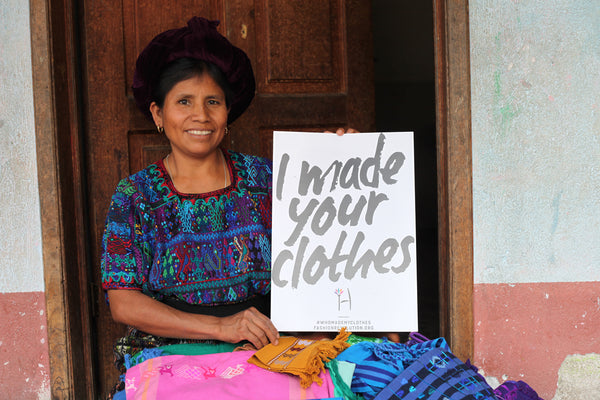 Hiptipico Fashion Revolution, hiptipico blog, ethical fashion brand, sustainable fashion, mayan artisans, support female artisans, fair trade, female entrepreneur