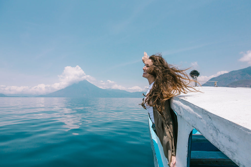 Lake Atitlan, Lake Atitlán, view of Lake Atitlan and volcano, Lake Atitlan travel, travel to Lake Atitlan, ethical travel in guatemala, top tourist destinations in Guatemala