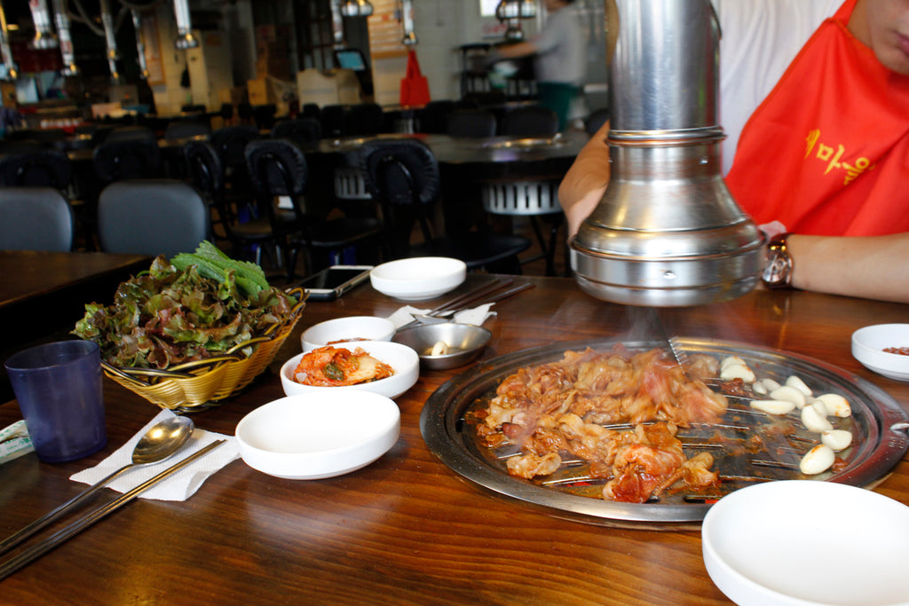 Korean BBQ, Korean Blogger, Korean Food Blog, Hiptipico Korea, Alyssaya Korea, Korean Travel Blogger