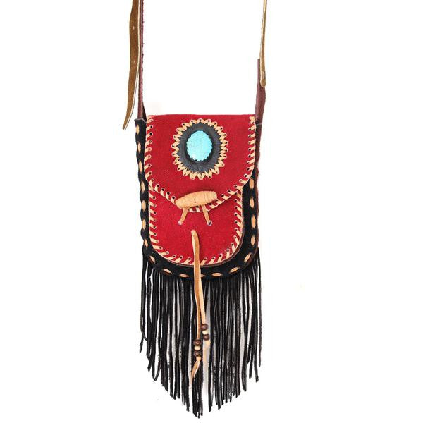 Hiptipico festival accessories, what to wear to a music festival, coachella, bonnaroo, 2017 festival fashion, music festival outfits, summer festival style bags, vintage clothing for festivals, tribal inspired festival clothing, embroidered festival fashion, ethical festival fashion, upcycled fashion accessories, leather crossbody bag for festival, fringe leather crossbody