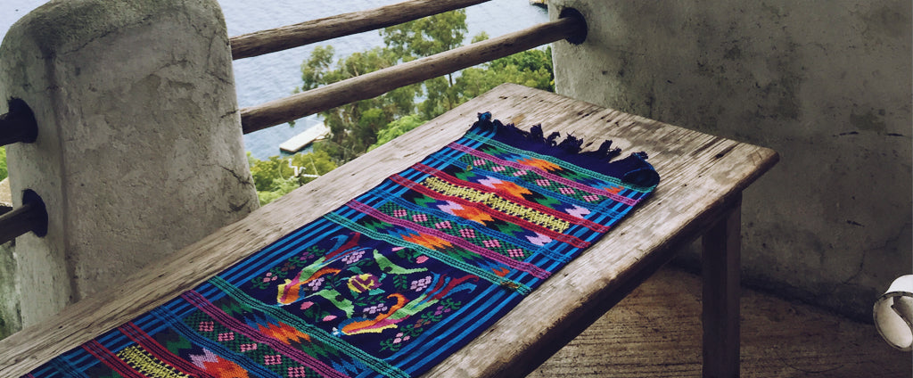 Hiptipico Table Runners, Handmade Ethical Sustainable Home Decor, Guatemalan Table Runners, Vibrant Colorful Embroidered Table Runners, Bohemian Table Runner, Ethical Fashion Brand