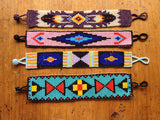 Hiptipico Beaded Bracelets, Bohemian Festival Tribal Bracelets, Boho Colorful Beaded Bracelets