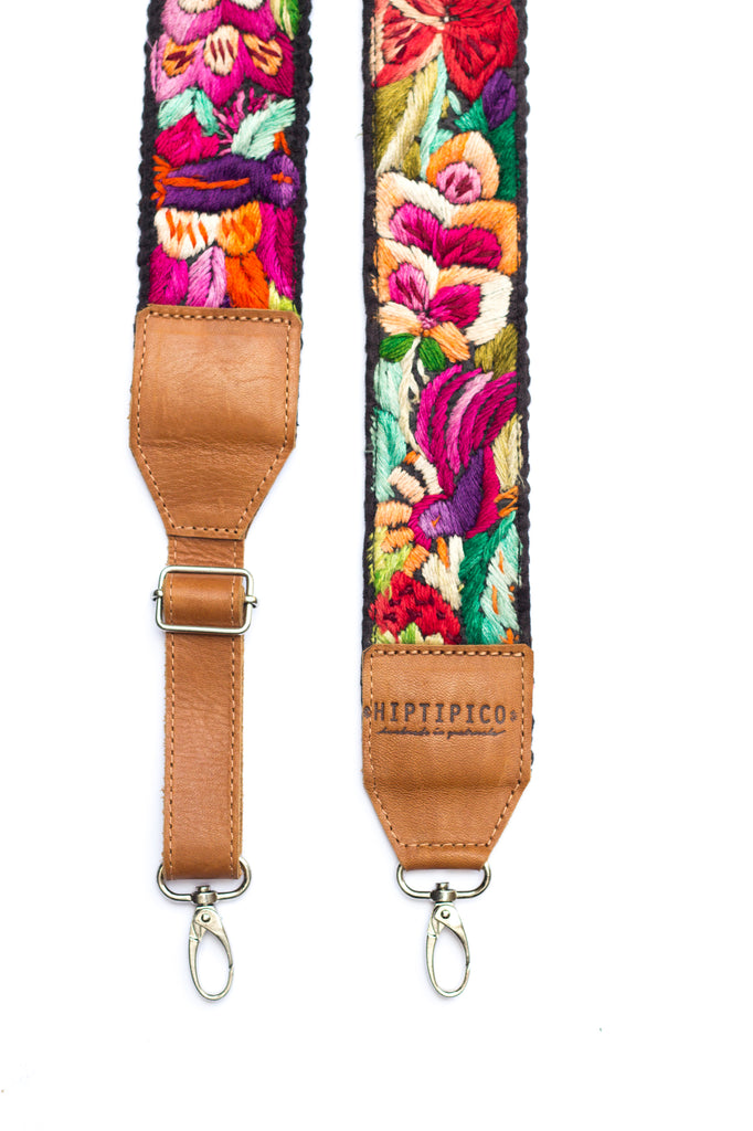 Adjustable Embroidered Strap - No. 589 Rosin