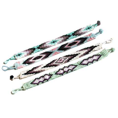 Grab a beaded bracelet, friendship bracelet or charm bracelet and adorn yourself in bohemian style!