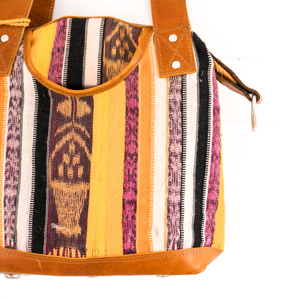 Artisanal Mini Convertible Bag - Hygieia