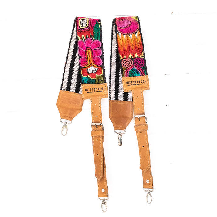 Vintage Embroidered Backpack Strap - 02237