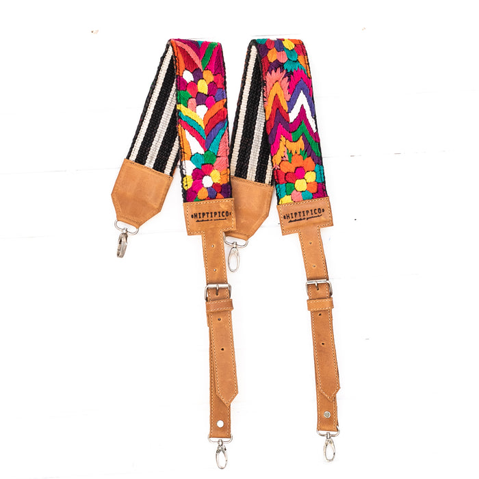 Vintage Embroidered Backpack Strap - 02250