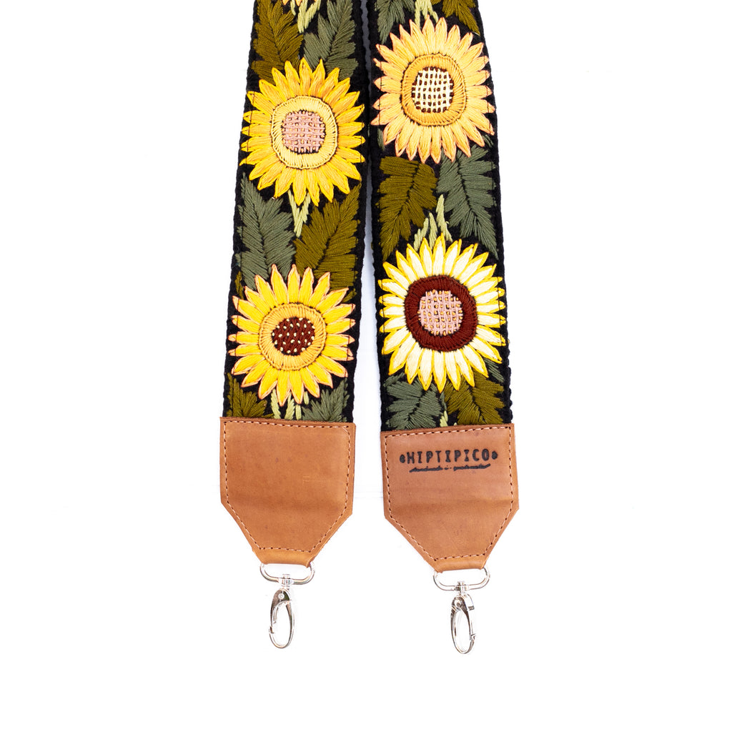Newly Embroidered Strap - Sunflower