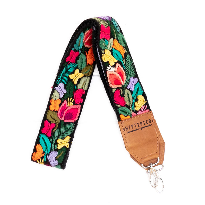 Newly Embroidered Strap - Botanical