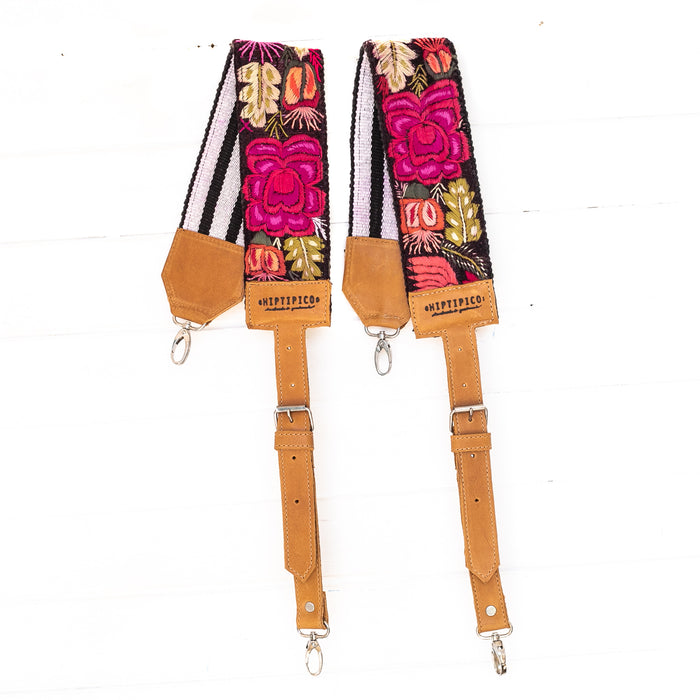 Vintage Embroidered Backpack Strap - 02199