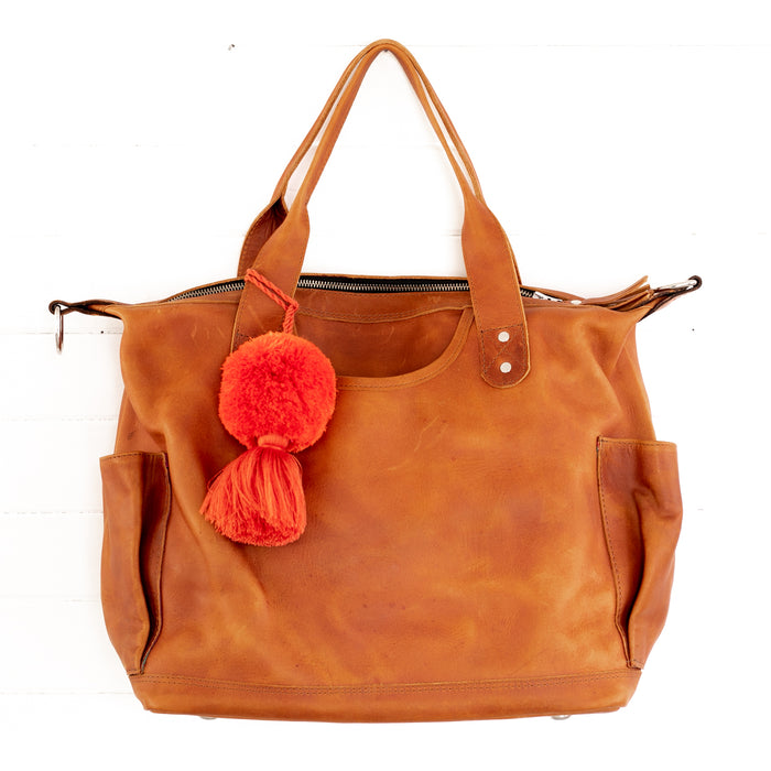 Hiptipico Leather Convertible Bag, Hiptipico CDB, Leather Bag Guatemala, Free People Leather Bag