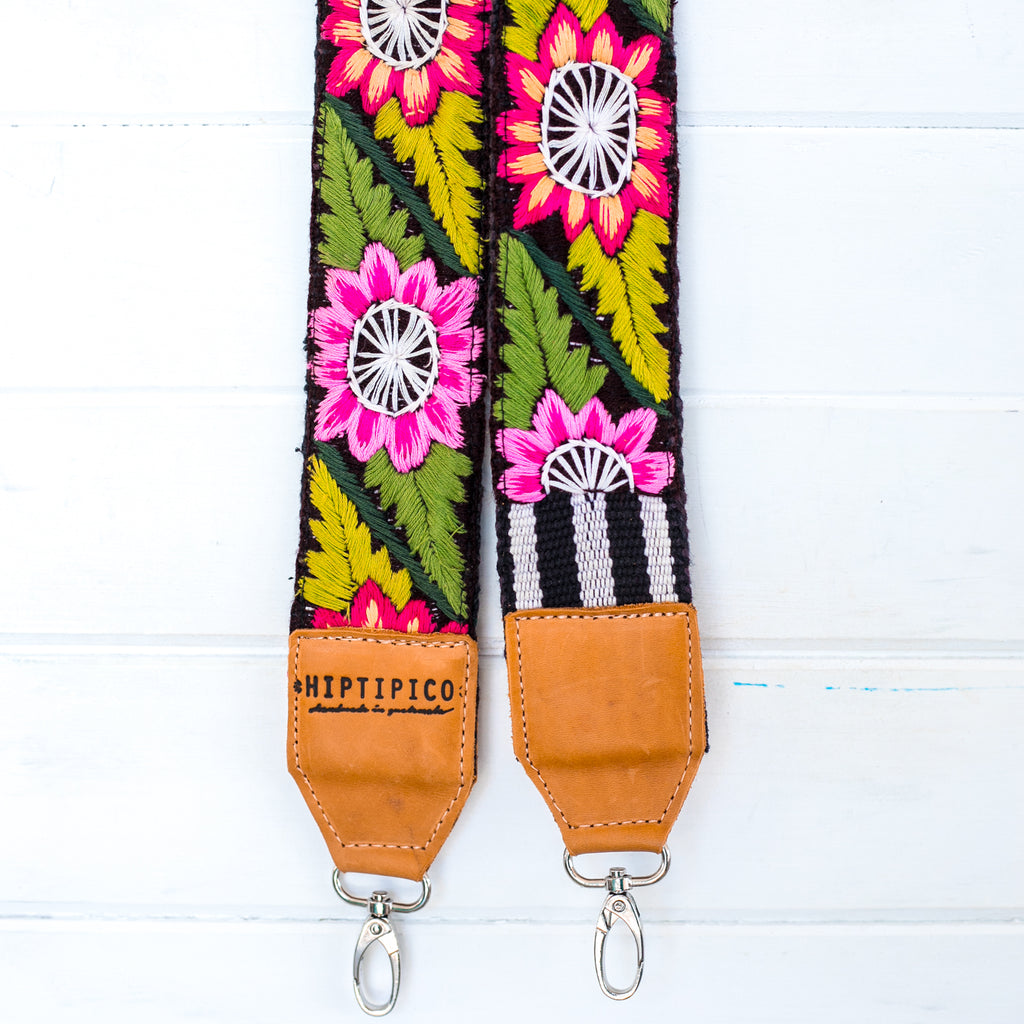Vintage Embroidered Strap - Sandia