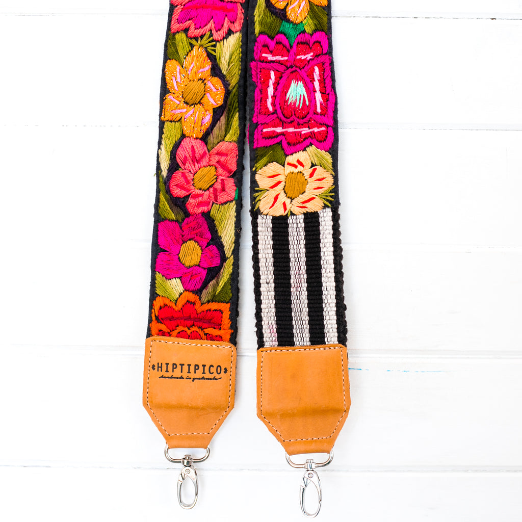 Vintage Embroidered Strap - Biscay