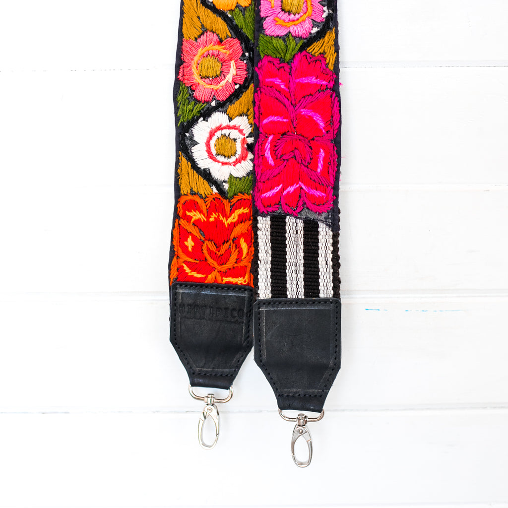 Vintage Embroidered Strap - Lena