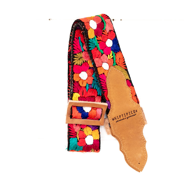 Vintage Embroidered Guitar Strap - 02608