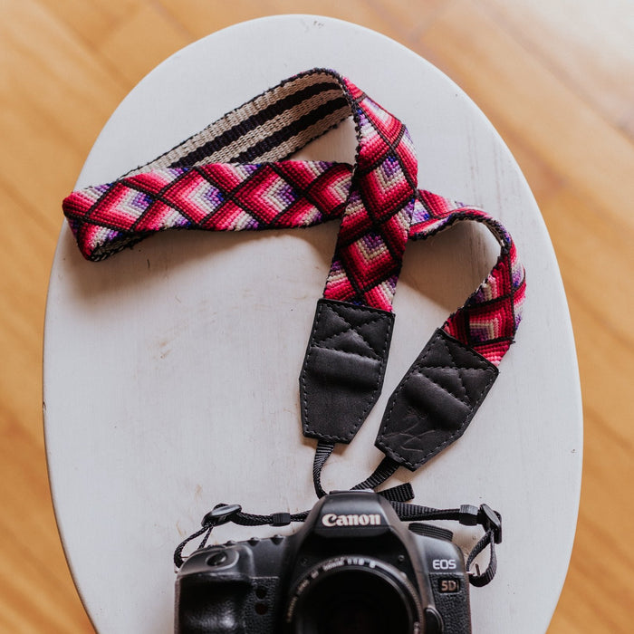 Vintage Embroidered Camera Strap - V0404