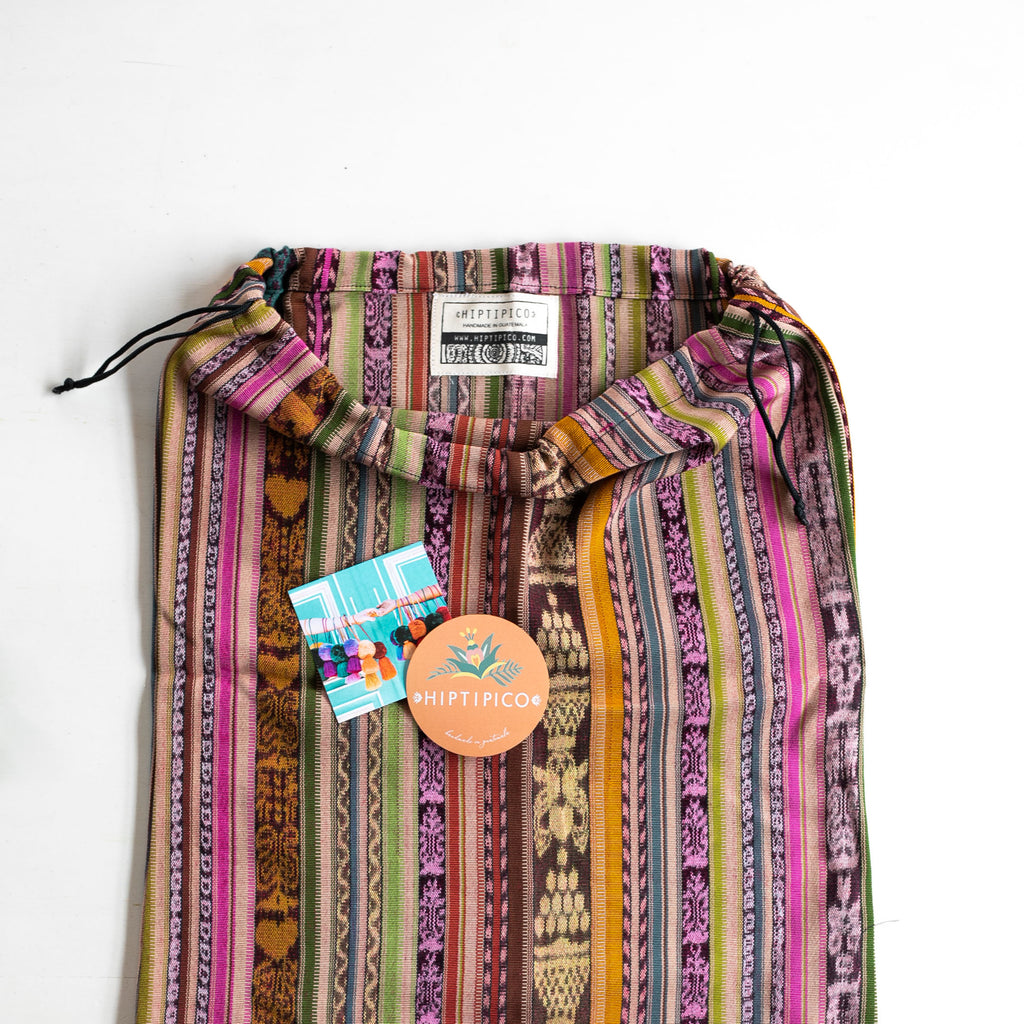 Harmony Convertible Bag Medium - Woven Nahualá