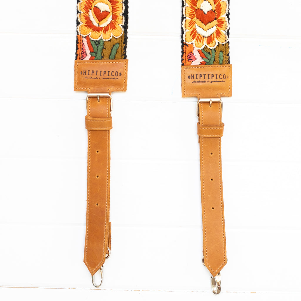 Newly Embroidered Backpack Strap - Eternal Sunset