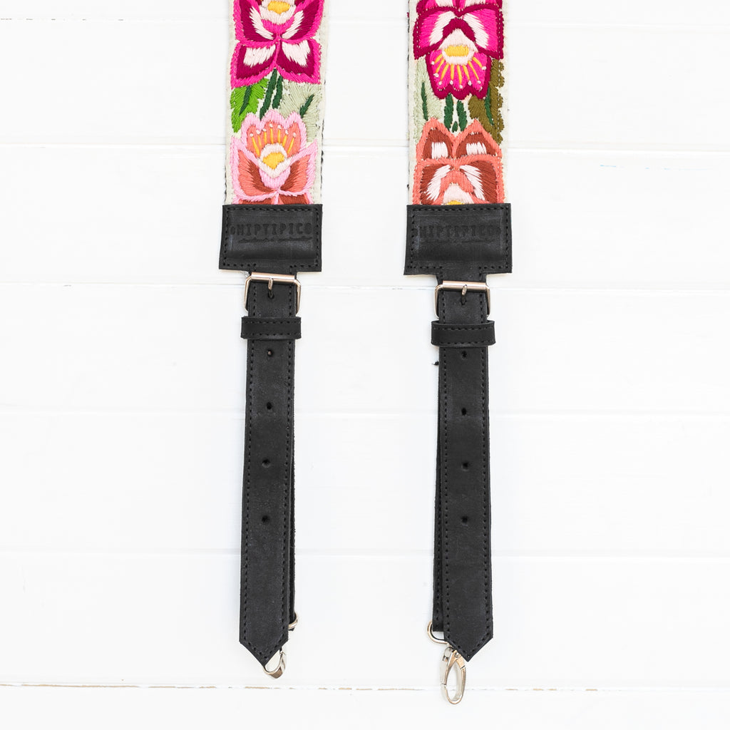 Newly Embroidered Backpack Strap - La Hacienda