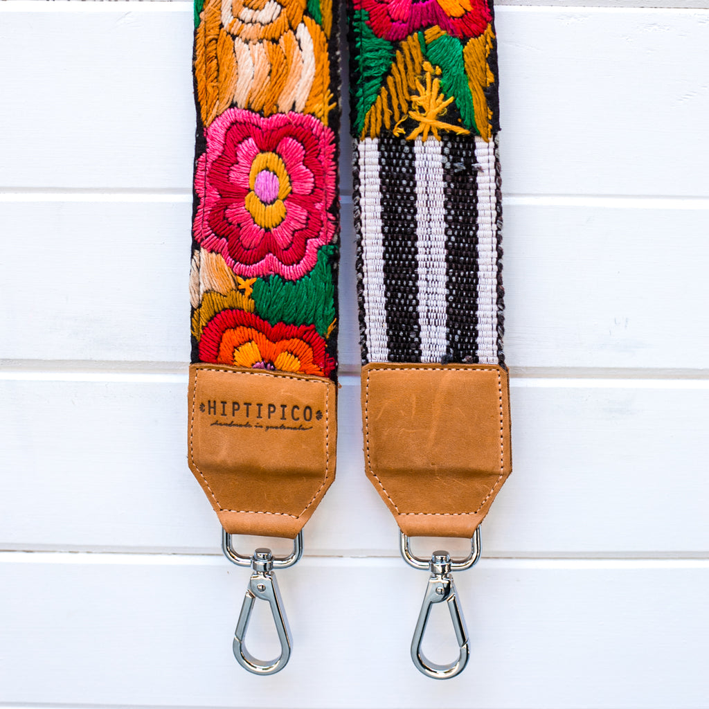 Large Clip Embroidered Strap - No. 003 Fusion