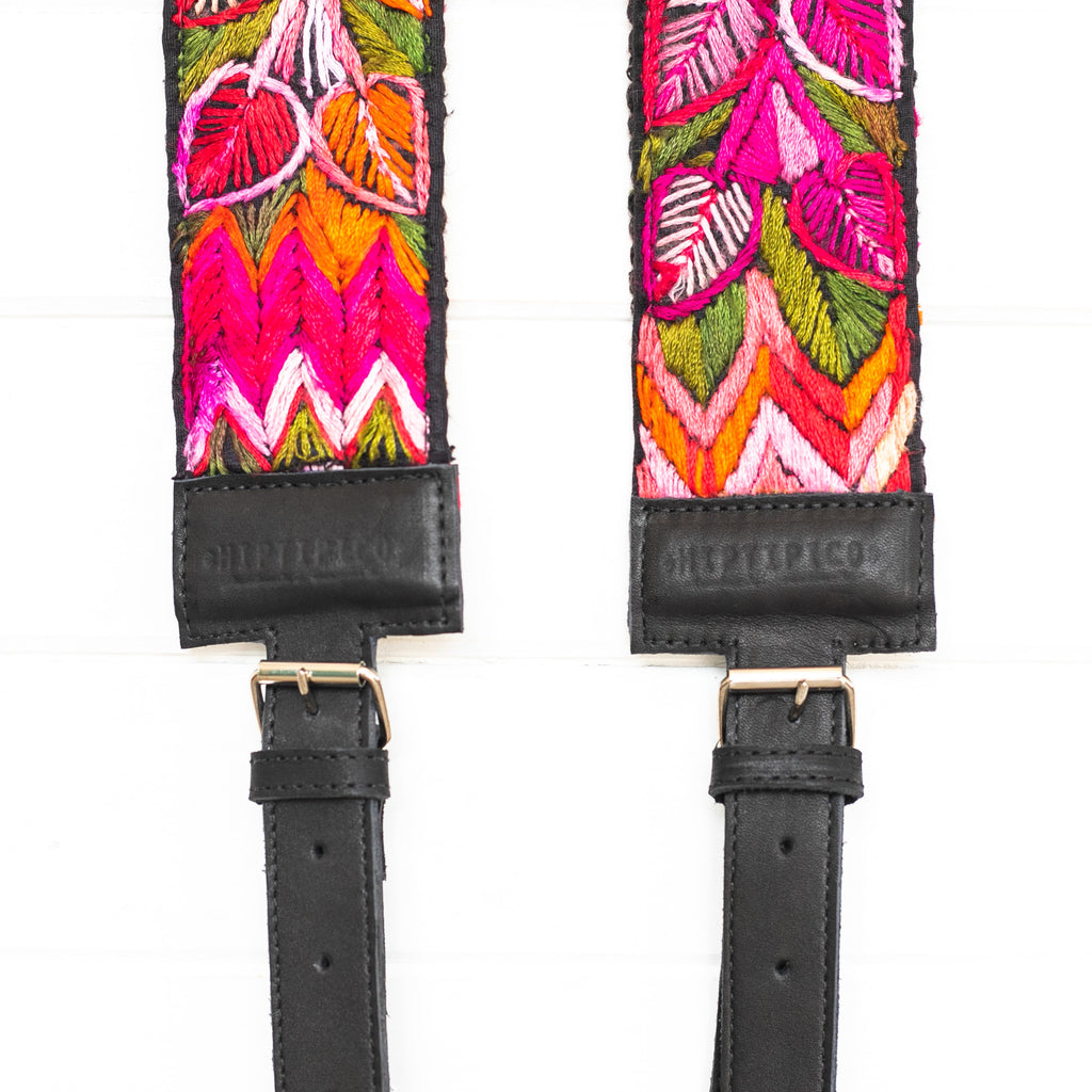 Vintage Embroidered Backpack Strap - 02012