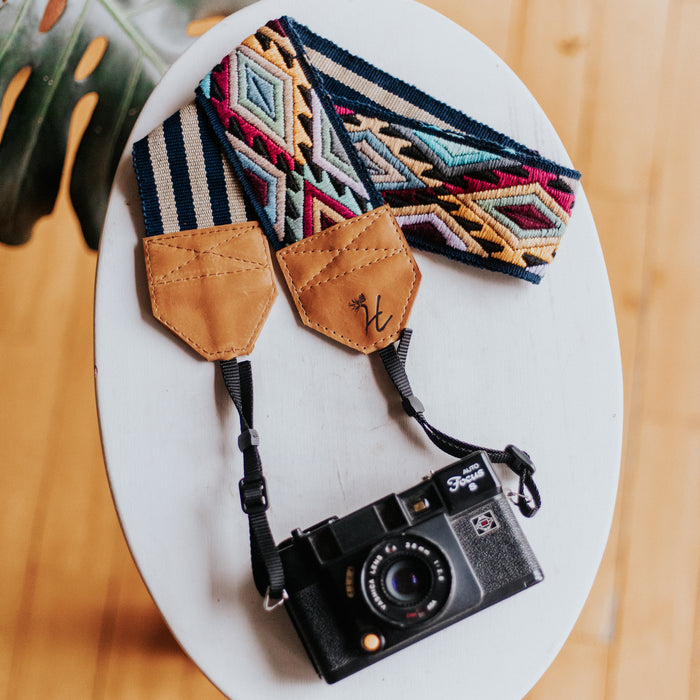 Newly Embroidered Camera Strap - N1108