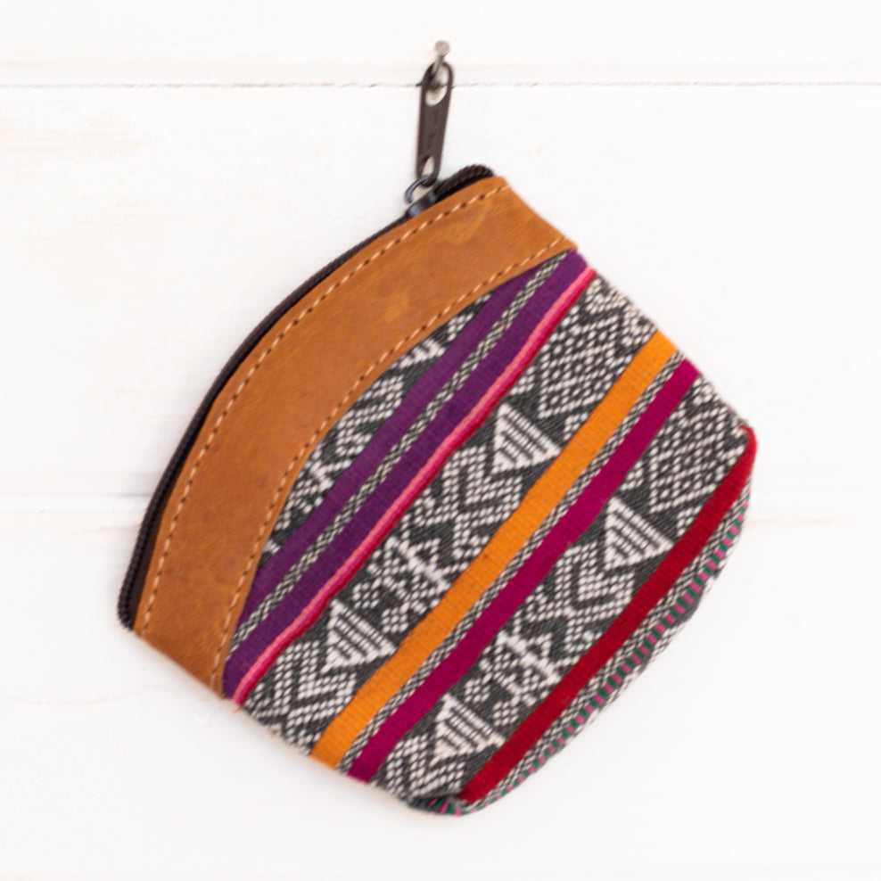 Artisanal Travel Coin Pouch - 013
