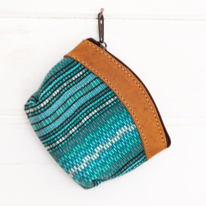 Artisanal Travel Coin Pouch - 003