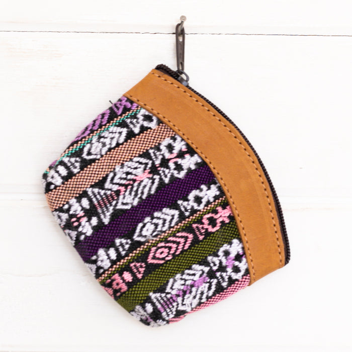 Artisanal Travel Coin Pouch - 014