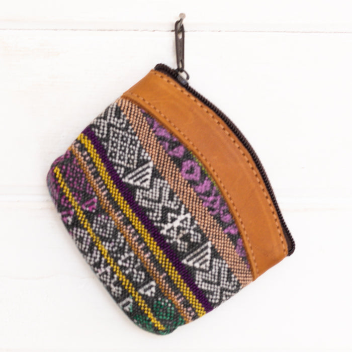 Artisanal Travel Coin Pouch - 012