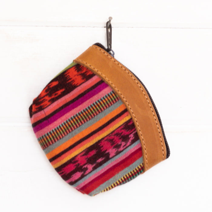 Artisanal Travel Coin Pouch - 001